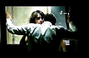 Penelope Cruz Bangged helter-skelter a Window....