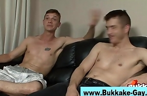 Blithe bukkake manipulate fuckfest booty-crack