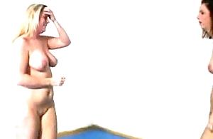 Nude Catfight part I