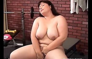 Beautiful chubby tits asian BBW