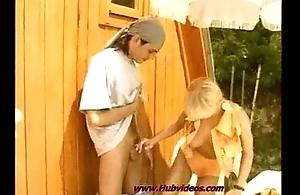 big blondi  teens fok