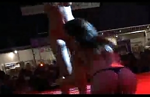 Scandal on stage lesbian bandeau