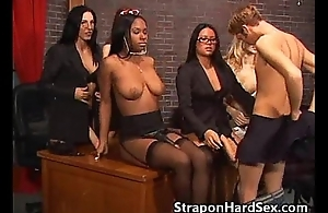 Five Strapon Girls!
