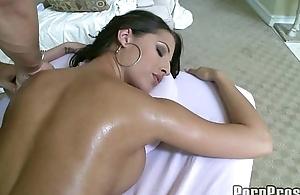 Hot Big Tit Rub-down