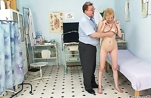 Gynecological cum-hole interrogation be expeditious for naturaly big titties tow-haired