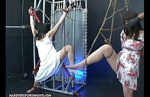 Innovative Japanese S&m Dealings - Kaho with an increment of Ayumi
