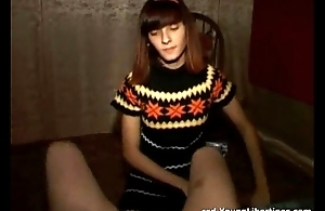 Cute Girl ALternative Blowjob