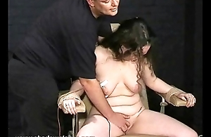Extreme amateur electro torment of english slavegirl